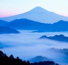 富士山峦图片