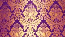 紫色高档宫廷花纹背景图片
