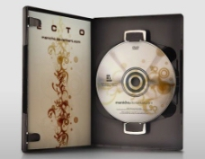 CD包装设计psd素材