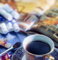 精致咖啡图片