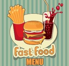 快餐菜单封面设计图片