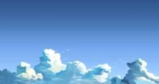 漫画天空图片