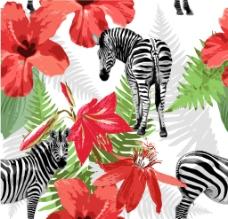 鲜花花纹图片