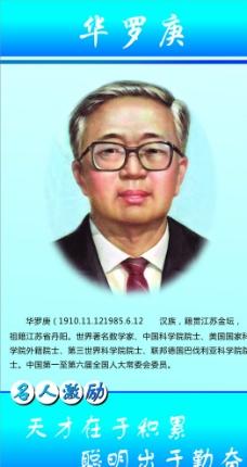 华罗庚简介图片