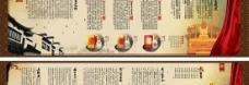 五粮液白酒折页手册psd分层素材
