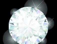 矢量璀璨耀眼的钻石素材设计