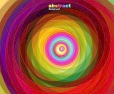 潮流色彩对话泡泡矢量图