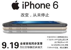 IPHONE6预售海报