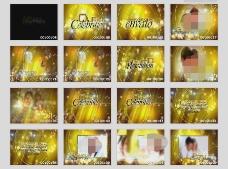 梦幻婚礼AE模板
