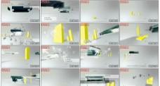 动态视频立体AE模板