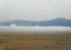 自然风景 蓝天  云雾图片
