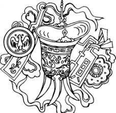 吉祥花纹 宫廷 吉祥图图片