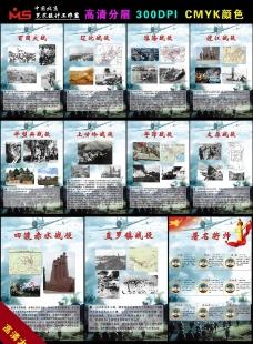 重大战役展板图片