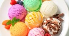 冰激淋球图片