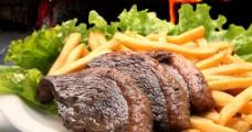 烤肉薯片图片