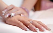 新娘手图片
