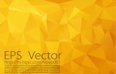 金色多边形矢量背景图片