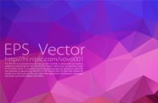 紫色多边形底纹图片