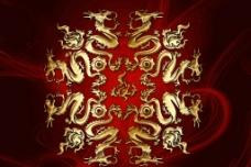 双龙戏珠图片