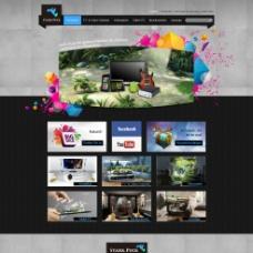 动感电子数码产品网站图片
