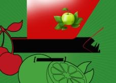 水果展板图片