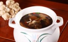 山珍野菌汤图片