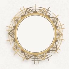 美丽的装饰圈相框背景