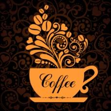 创意唯美的咖啡杯