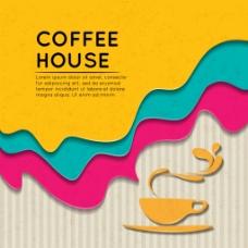 立体咖啡杯