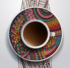 艺术咖啡杯
