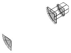 直角椭圆货架