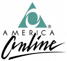 America Online logo设计欣赏 软件和硬件公司标志 - America Online下载标志设计欣赏