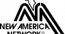 New America Network logo设计欣赏 新美国网络标志设计欣赏