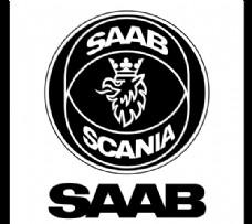 Saab Scania logo设计欣赏 萨博斯堪尼亚标志设计欣赏