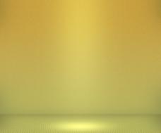 黄色背景简单聚光灯