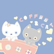 印花矢量图 可爱卡通 卡通动物 小猫 咖啡杯 免费素材