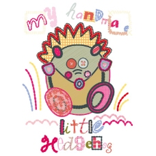 印花矢量图 贴布 女童 T恤图案 可爱卡通 免费素材