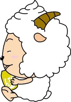 印花矢量图 卡通动物 可爱卡通 色彩 白色 免费素材