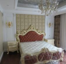 卧室床头背景图片