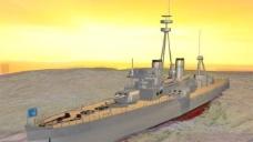 仿无畏号的二级战列舰1艘