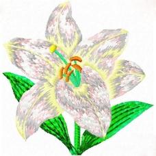 绣花 成熟优雅女装 植物 花 免费素材