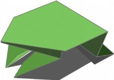 折纸的跳蛙
