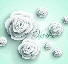 白玫瑰花图片