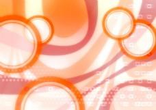 橙色背景图
