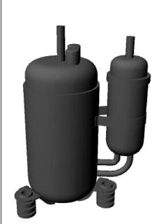 控压箱3D模型下载