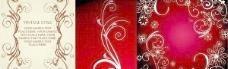 高贵典雅的欧式花纹背景矢量素材
