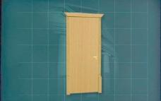 门窗构件之大门3D模型大门044