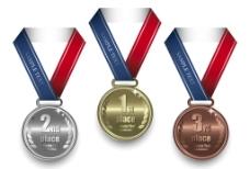 奖牌素材图片