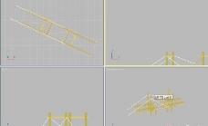 特色桥3D模型
