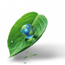 其他设计模板叶子地球设计海报